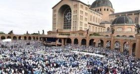 Terço dos Homens: Santuário de Aparecida acolherá maior peregrinação do ano